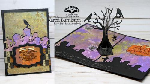 Tutorial: Raven Tree Pop Up Card