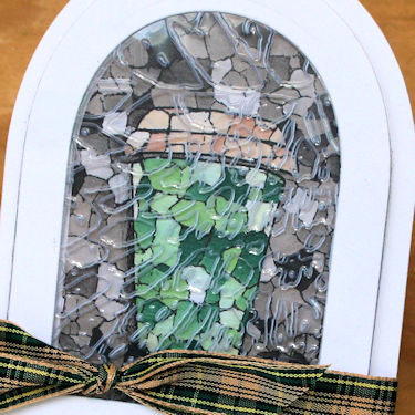 Technique: Faux Stained Glass Stamping