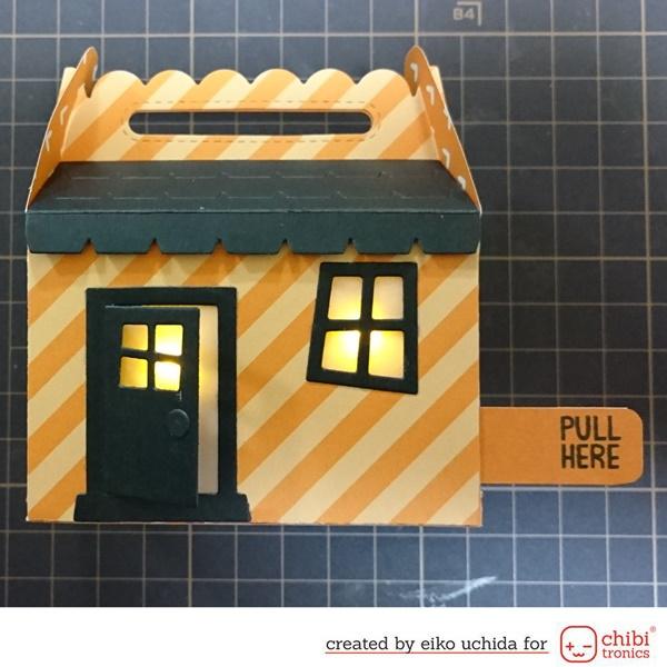 Project: Light Up Halloween Treat Box