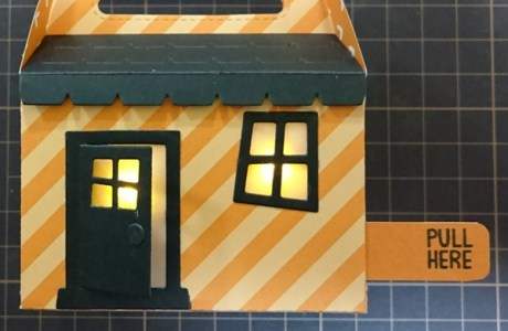 Project: Light Up Halloween Treat Box