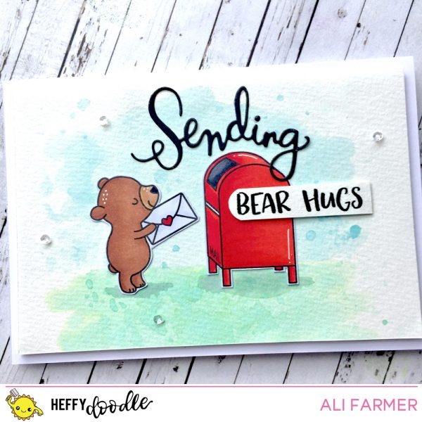 Download: Postage Bear Digital Stamp