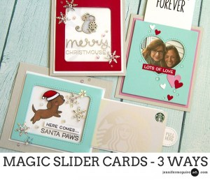 Projects: 3 Different Magic Slider Cards