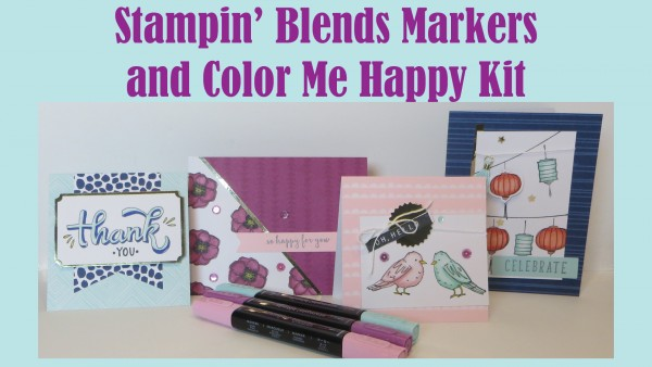 Product Review: Stampin' Blends Alcohol Markers from Stampin' Up