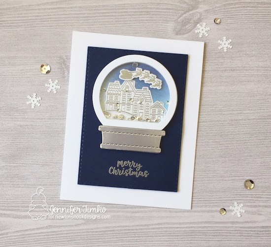 Project: Snow Globe Shaker Card