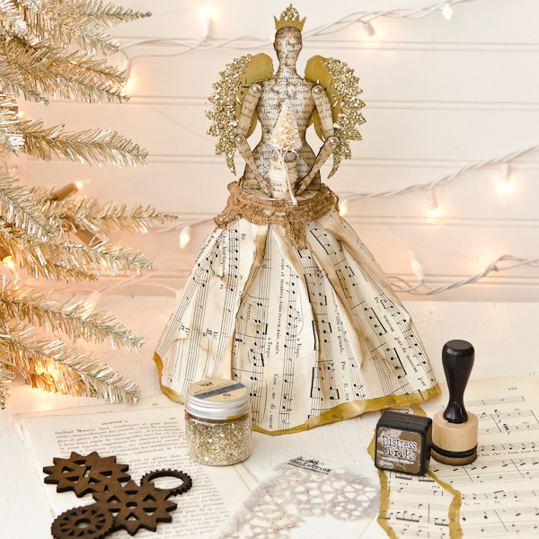 Project: Angel Christmas Tree Topper