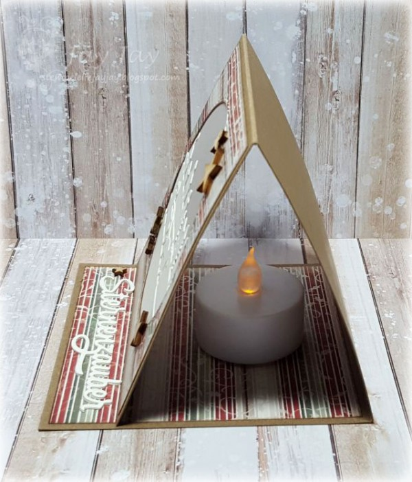 Project: Tealight Candle Card