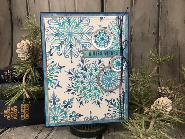 Project: Snowflake Card with DIY Metal Tags