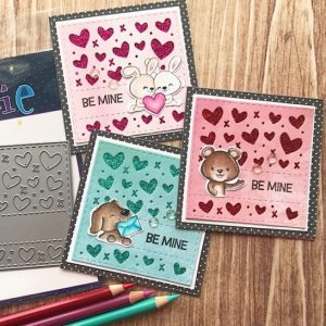 Projects: Glitter Hearts and Animals Smaller Valentines