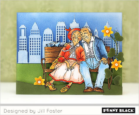 Projects: New Valentine Release from Penny Black Stamps