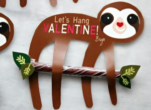 Download: Sloth Valentine Card
