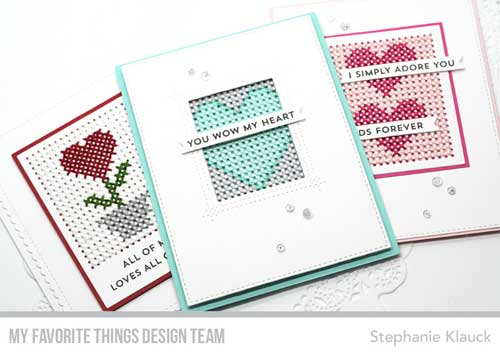 Download and Tips: Valentine's Day Stitched Cards