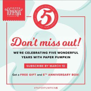 Paper Pumpkin Monthly Kit Deal!