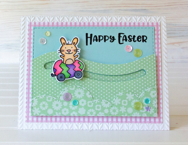 Project: Easter Bunny Slider Card