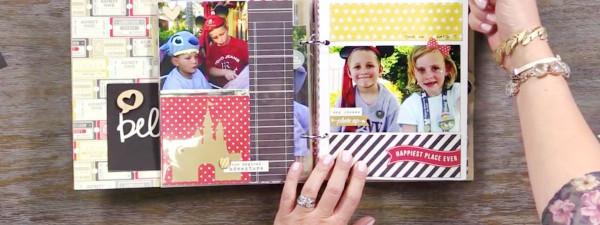 Project: Disney Trip Scrapbook