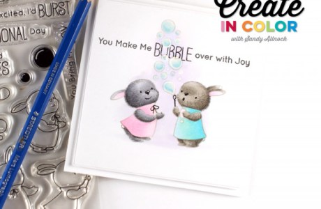 Coloring Technique: Fuzzy Bunnies Card
