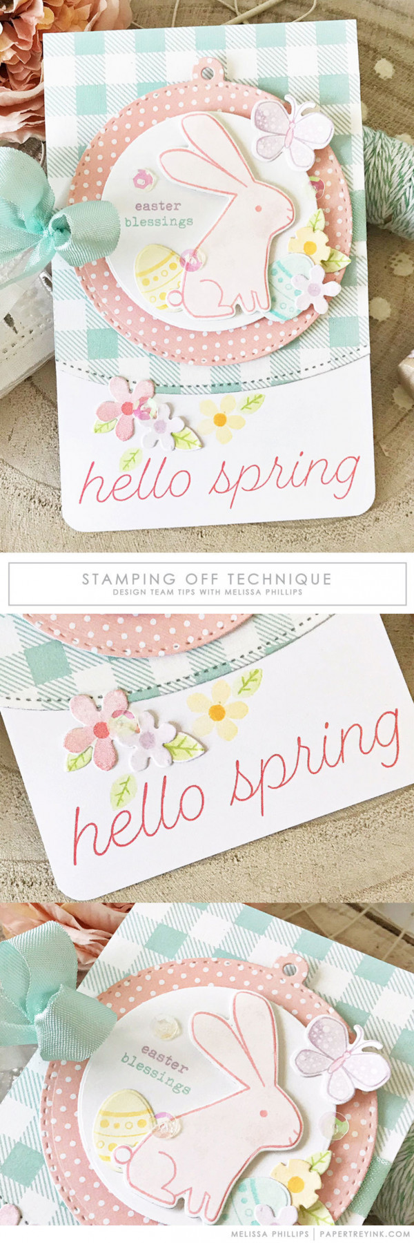 Technique: Stamping Off