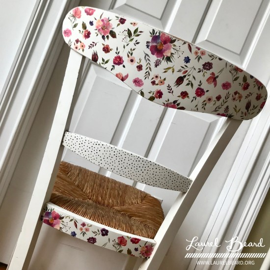 Tip: Re-do a Chair with Washi Tape