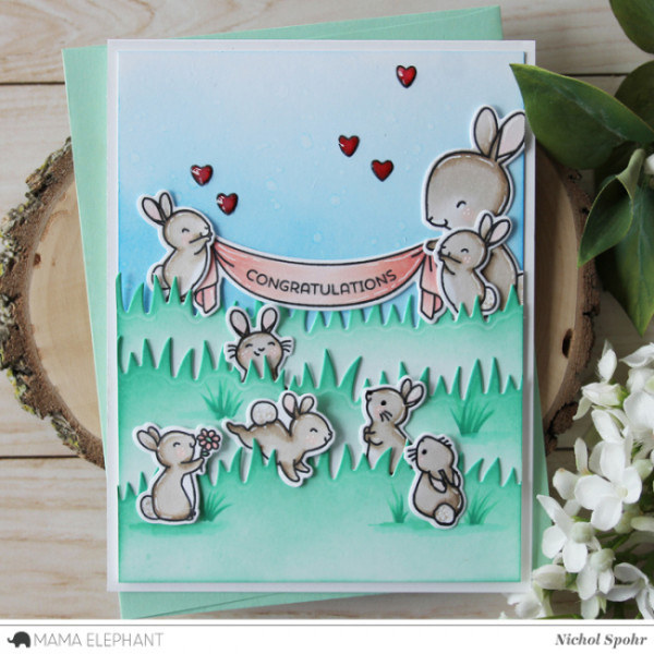 Project: Bunny Baby Card