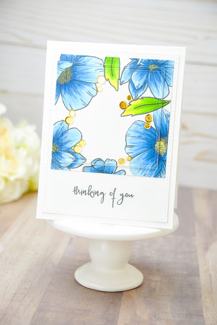 Project: Flower Frame Card