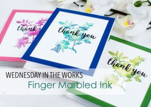 Technique: Marbled Stamps