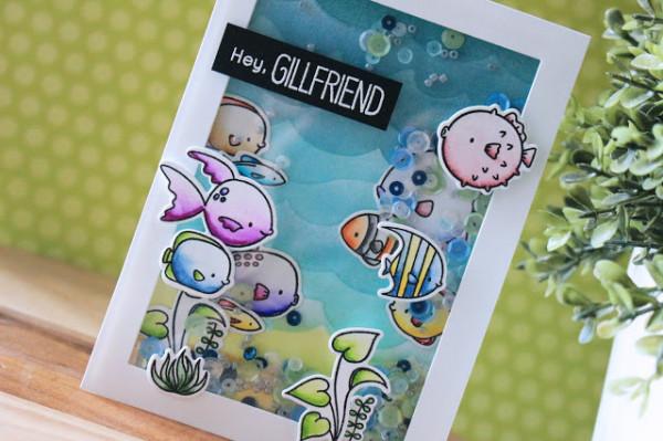 Fish Shaker Card