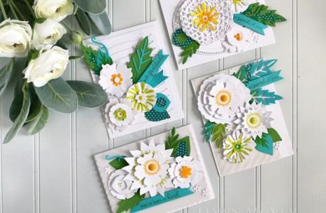 Reverse Flower Cards