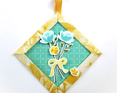 Mitered Frame Paper Ornament