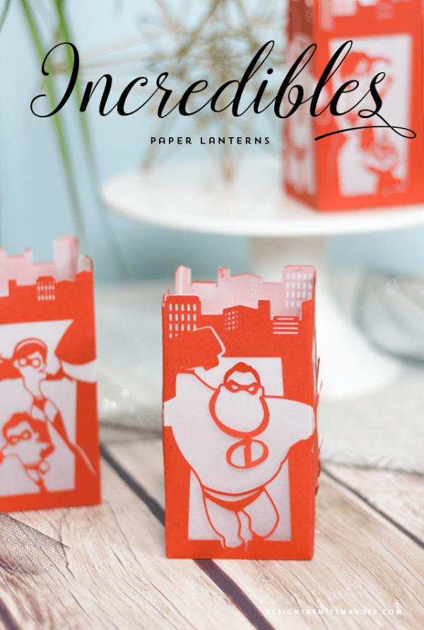 Disney's Incredibles Paper Lantern