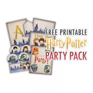 Harry Potter Party Pack Printables