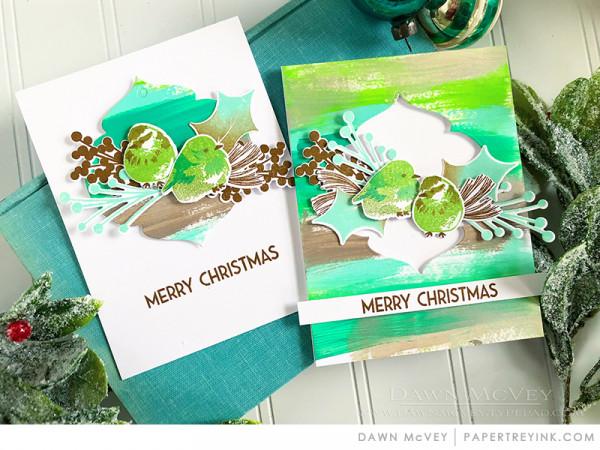 Brushstroke Card Backgrounds