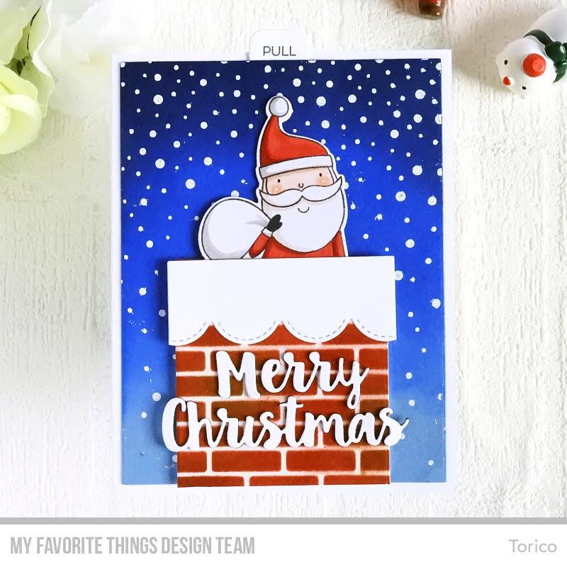 Santa Slider Card
