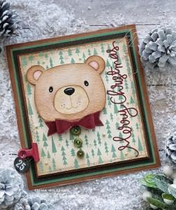 Christmas Bear Card
