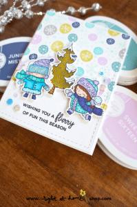 Winter Girls Card