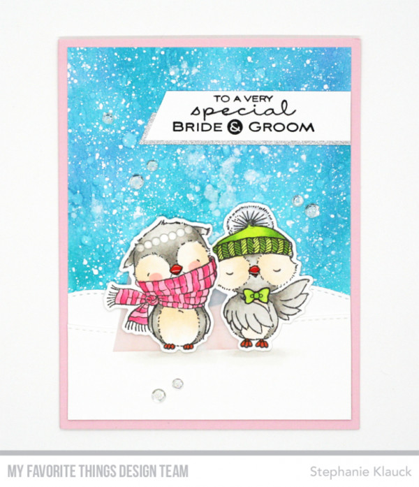 Winter Wedding Card
