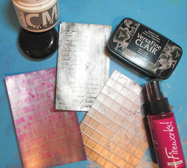 Get a Metallic Look with Creative Medium