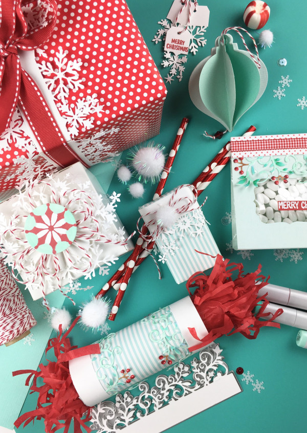 Gift Wrap and Ornaments Paper Craft Projects