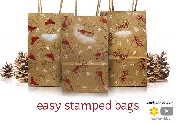 Easy Holiday Gift Bags