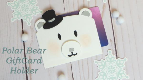 Polar Bear Gift Card Holder