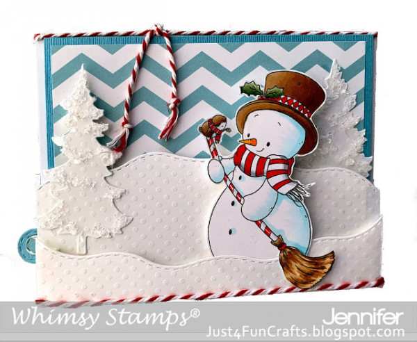 Snowman Sweeper Card