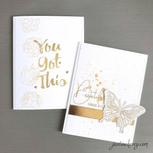 10 Ways to Add Gold to Cards