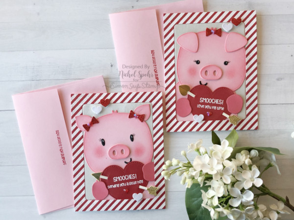 Piggy Valentine Cards