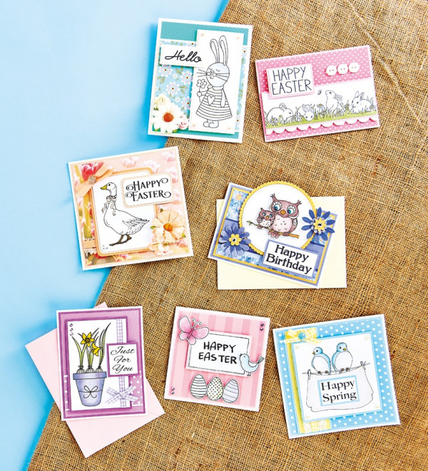 53 FREE Easter Digital Stamps