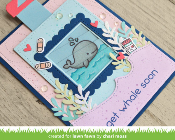 Picture Changer Get Well Card