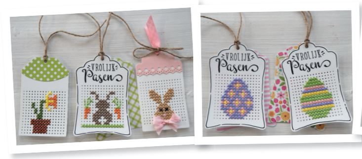 Easter Cross Stitch for Dies