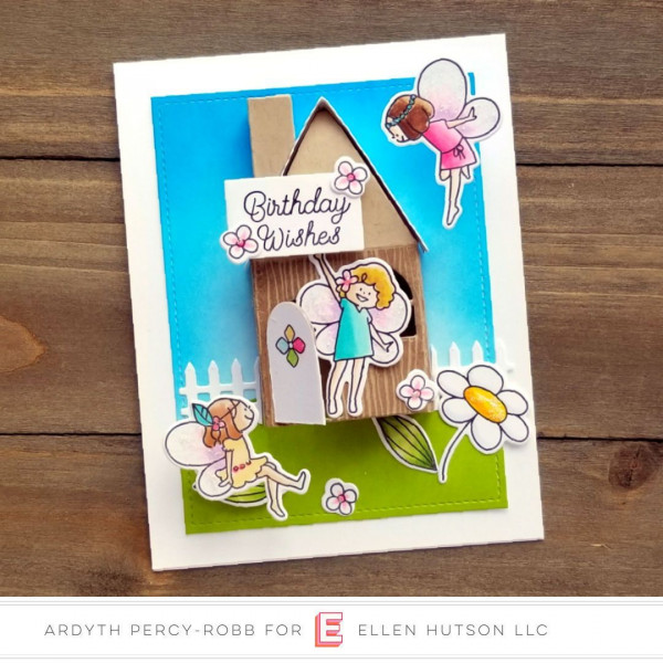 Fairy House Card