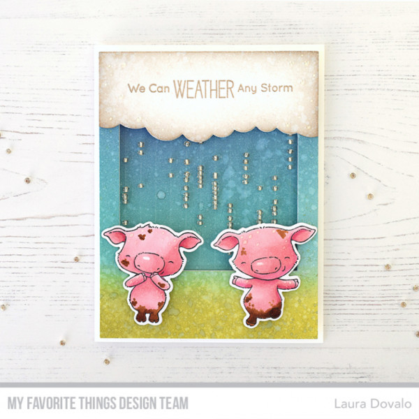 Rainy Day Shaker Card