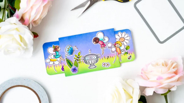 Slider Surprise Fairy Card