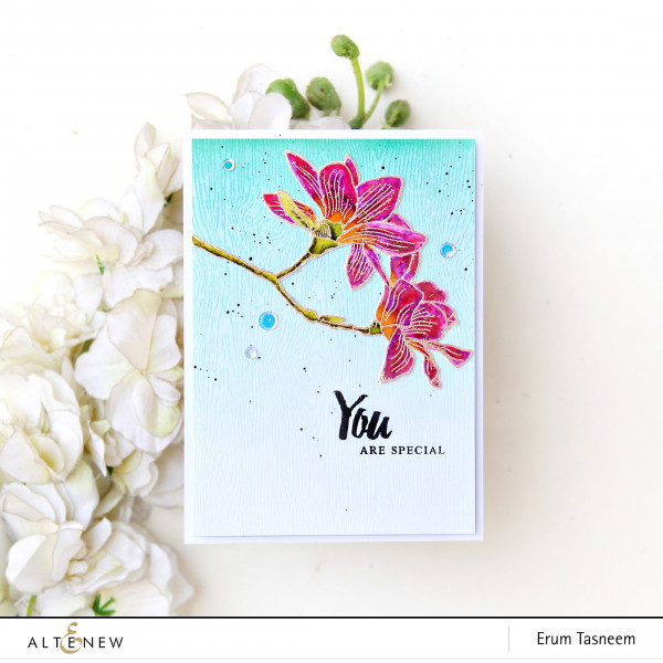 Easy Watercolor Floral Card