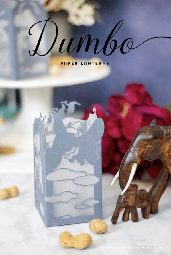 Dumbo Paper Lantern Die