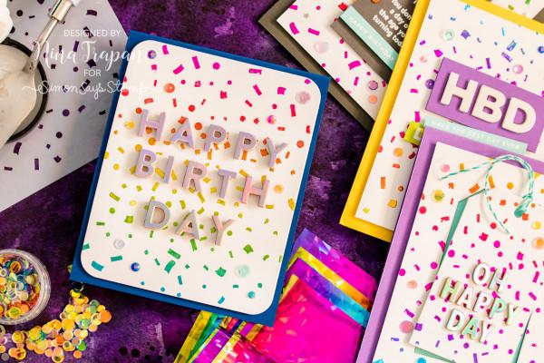 Rainbow Foil Cards